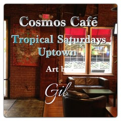 Photo taken at Cosmo's Cafe by Edwin G. on 4/27/2013