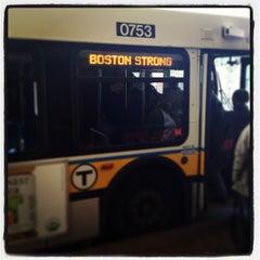 Photo taken at MBTA Davis Square Station by Matt J. on 4/24/2013