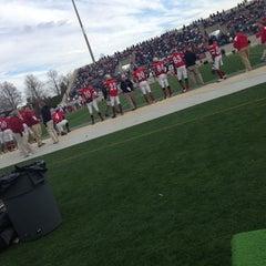 Photo taken at Gibbs Stadium by Clay W. on 12/15/2012