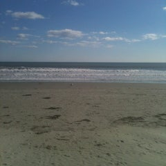 Photo taken at First Beach by Matthew H. on 10/21/2012