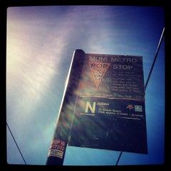 Photo taken at MUNI Metro Stop - Sunset Tunnel East Portal by Zac R. on 10/4/2012