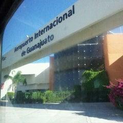Photo taken at Aeropuerto Internacional de Guanajuato (BJX) by jose n. on 10/22/2012