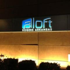 Photo taken at Aloft Rogers-Bentonville by Kelley H. on 12/20/2012