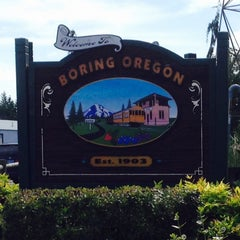 Photo taken at City of Boring by Steve S. on 6/6/2015