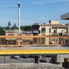 Photo taken at MTA SIR - Dongan Hills by Bobby D. on 6/28/2014