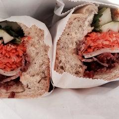 Photo taken at Saigon Vietnamese Sandwich Deli by Lisa on 5/5/2014