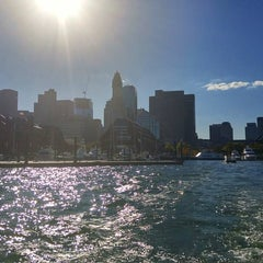 Photo taken at Boston Harbor Water Taxi by Gustavo C. on 10/6/2015