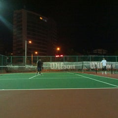 Photo taken at Court Tenis MPHTJ by Mohd M. on 6/4/2013