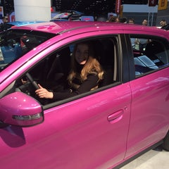 Photo taken at Chicago Auto Show by Олена А. on 2/21/2015