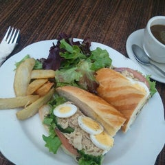 Photo taken at Paul Bakery Cafe by JulienF on 1/6/2013
