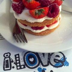 Photo taken at I Love Cake by Olga Z. on 3/20/2013