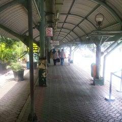 Photo taken at Terminal DAMRI Gambir by Azad K. on 5/1/2015