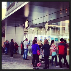 Photo taken at Apple Store, Perth City by Ella W. on 6/9/2013