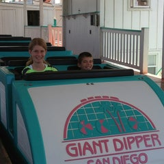 Photo taken at Giant Dipper Rollercoaster by Joe B. on 5/28/2013