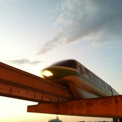 Photo taken at Monorail Green by TEC I. on 4/2/2012