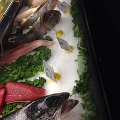 Photo taken at TJ's Seafood Market by Virginia A. on 8/19/2014