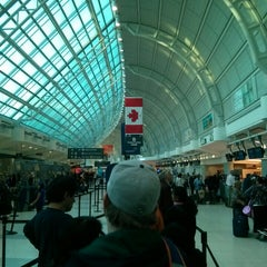 Photo taken at Toronto Pearson International Airport (YYZ) by Alexandru B. on 10/9/2013
