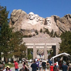 Photo taken at Mount Rushmore National Memorial by Suzy E. on 7/3/2013