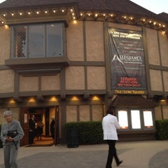 Photo taken at The Old Globe Theatre by atxrich on 10/17/2012