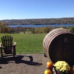Photo taken at Keuka Spring Vineyards by Alana B. on 10/15/2013