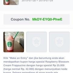 Photo taken at Starbucks by Septawisnu P. on 7/29/2015