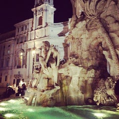 Photo taken at Piazza Navona by Gwyn C. on 7/3/2013