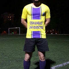 Photo taken at Abdurrahman Temel Futbol Sahası by Hakan C. on 4/15/2015