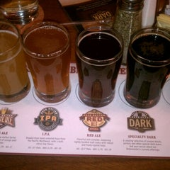 Photo taken at Rock Bottom Brewery by Sara D. on 11/3/2012