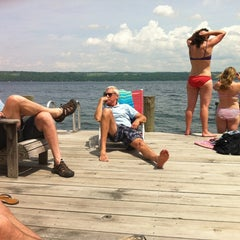 Photo taken at Cayuga Lake by Lisa B. on 6/1/2013