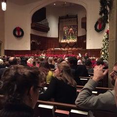 Photo taken at Emmanuel Baptist Church by Jeff J. on 12/24/2014