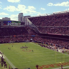Photo taken at Soldier Field by Brittany D. on 10/6/2013