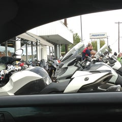 Photo taken at Lonestar BMW/Triumph by Jacque (. on 10/5/2013