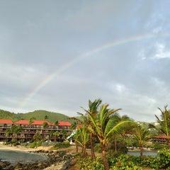 Photo taken at Sapphire Beach Marina & Resort Saint Thomas (Virgin Islands U.S.) by . .. on 8/4/2014