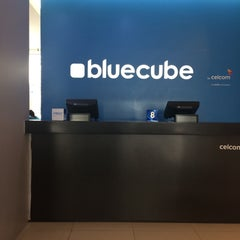 Photo taken at Celcom Blue Cube by Farahnur R. on 2/24/2015
