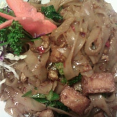 Photo taken at My Thai Cafe by Hoa T. on 12/24/2013