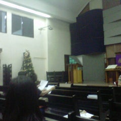 Photo taken at Gereja Kristen Indonesia (GKI) Ngagel by Monic N. on 12/1/2012