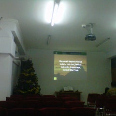 Photo taken at Gereja Kristen Indonesia (GKI) Ngagel by Monic N. on 12/31/2012