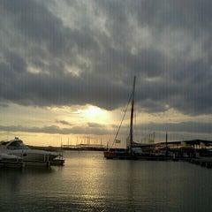 Photo taken at Pier 121 Marina by Jenn V. on 3/21/2013