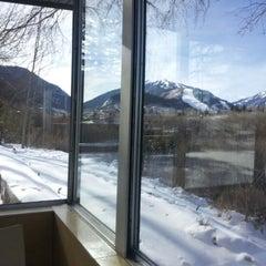 Photo taken at Aspen Meadows Resort by Chris M. on 12/13/2012