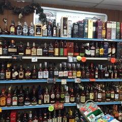 Photo taken at Logan Liquors by Anu P. on 11/15/2014