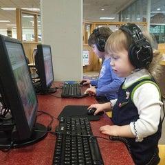 Photo taken at KCLS Renton Library by burndive on 4/18/2014