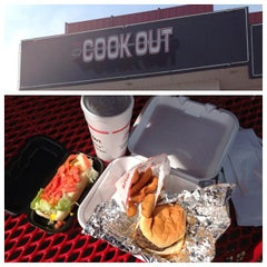 Photo taken at Cook-Out by Jeremiah on 10/5/2013