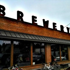 Photo taken at Greenbush Brewing Company by Christopher M. on 6/2/2013