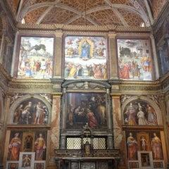 Photo taken at Chiesa di San Maurizio al Monastero Maggiore by Jayne on 10/25/2012