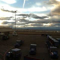 Photo taken at Gate C28 by Aaron C. on 12/5/2012
