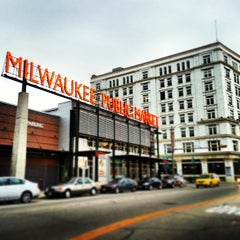 Photo taken at Milwaukee Public Market by Stefanie K. on 10/23/2013