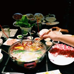 Photo taken at Little sheep Mongolian Hot Pot by Jane K. on 10/21/2013