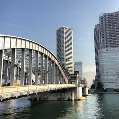 Photo taken at 勝鬨橋 by ___________________'s on 2/7/2013