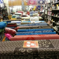 Photo taken at D I Dadabhay Fabrics by fm.no.mad/ZA on 9/25/2014