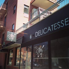 Photo taken at Mile End Delicatessen by Ray E. on 4/5/2013